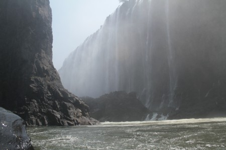 Amazing place to start your trip, beneath Victoria Falls