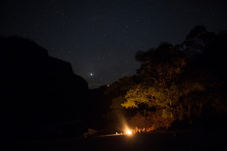 Some of the best star Gazing on the planet on the Zambezi River
