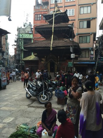 Life in Kathmandu continues on as close to normal as possible.