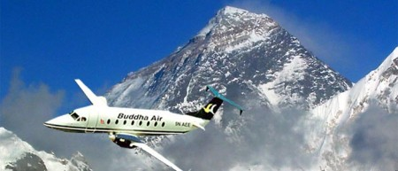 A scenic flight to see the world's highest mountain is a 'must'.