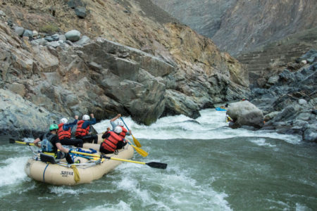 Thrill a minute rafting on the Rio Cotahuasi