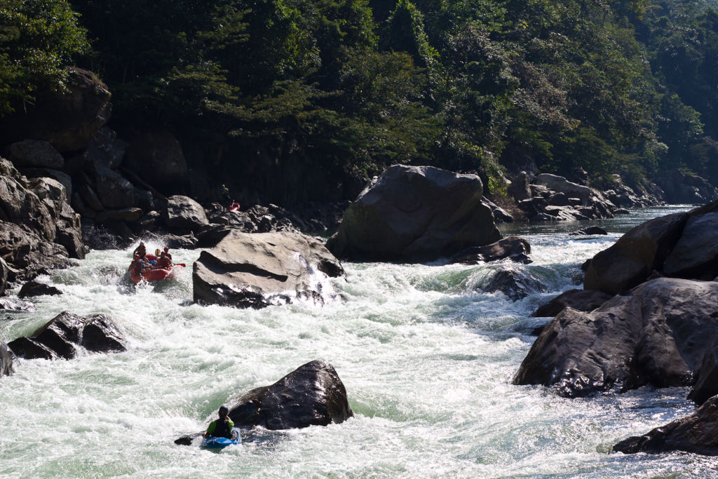 Be prepared for some stunning whitewater