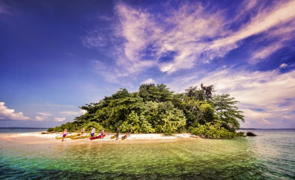 The perfect island with world class snorkelling nearby