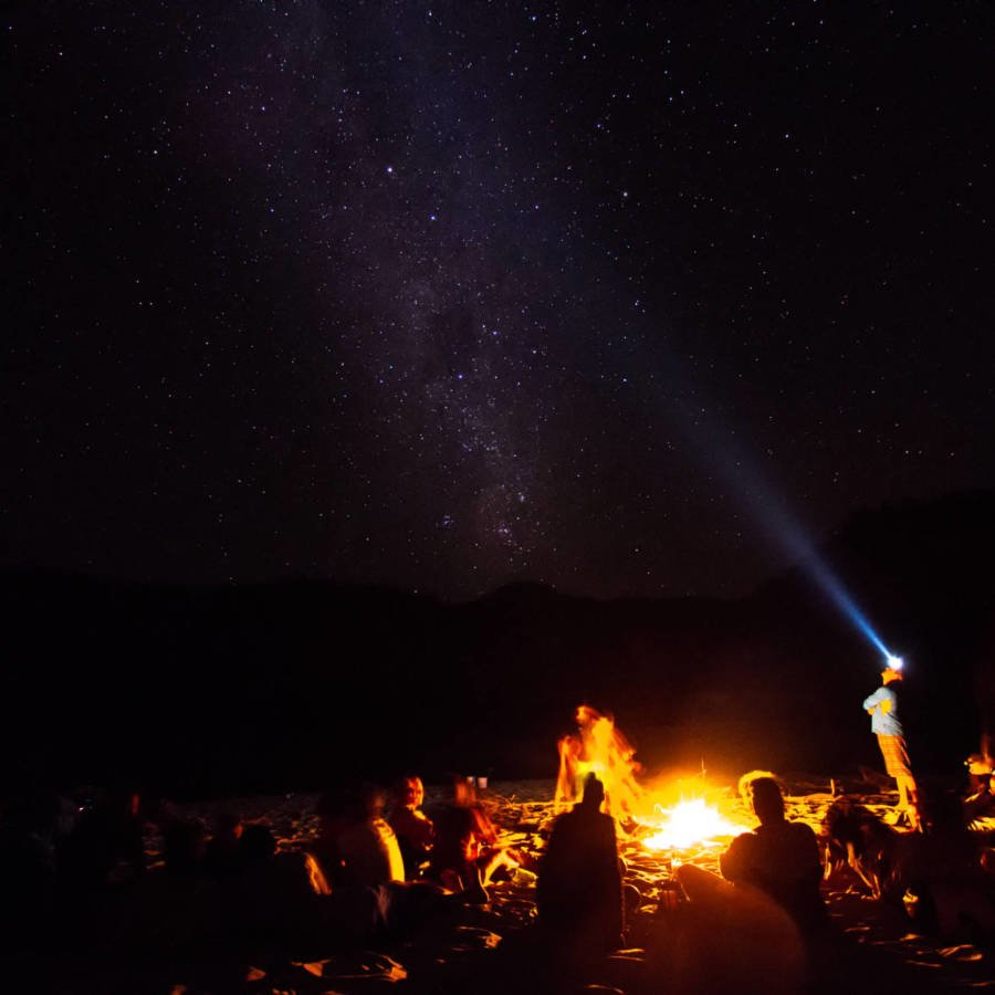 Spectacular campsites on the Zambezi