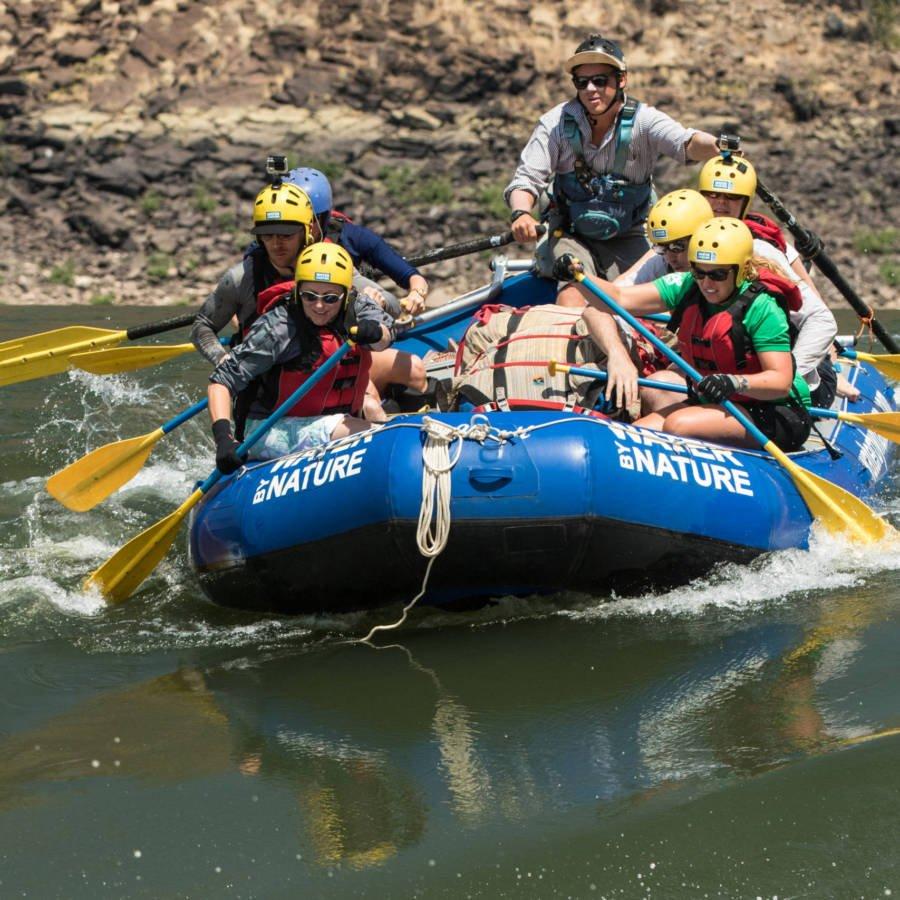 Image of rafting on the Zambezi River