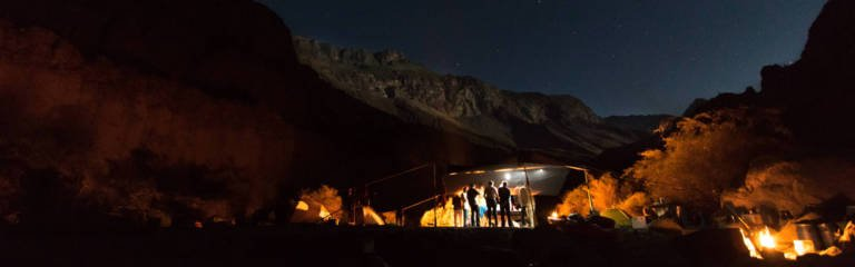 Image of camping on the Rio Cotahuasi