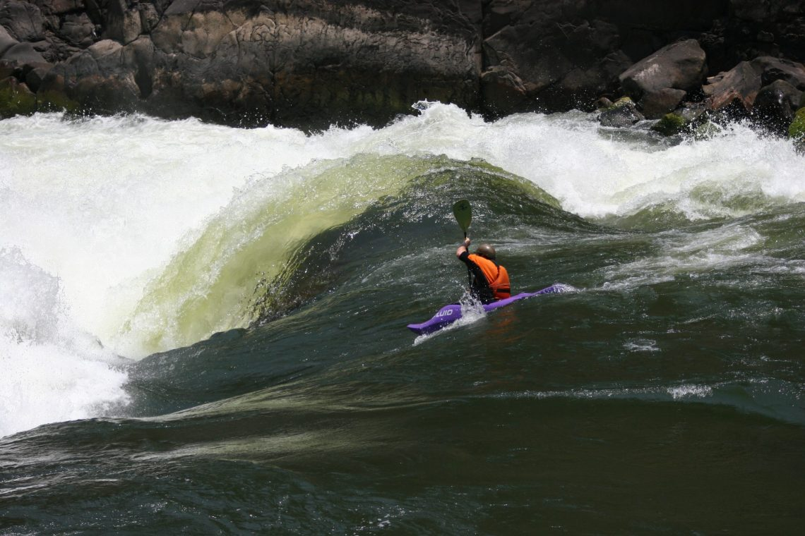 Fun and fluffy warm water on the Zambezi.