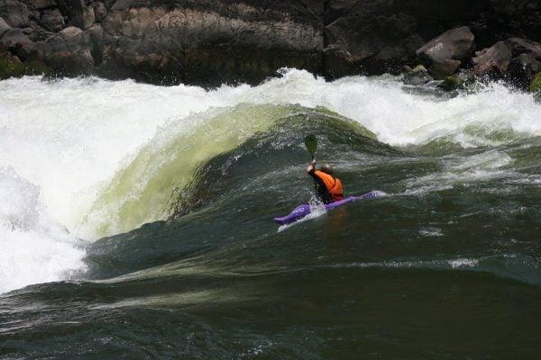 Fun and fluffy warm water on the Zambezi.