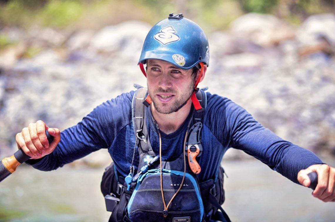 Image of Josh Cooper river rafting guide