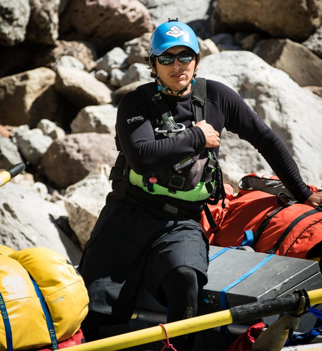 Image of rafting guide Santiago Carlin